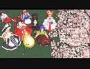 【第12回東方ニコ童祭EX】東方主人公と自機キャラ+aでよりぬき銀魂ED【東方project25周年】