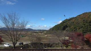 【KTR8000形で】【車窓】特急はしだて 京都→園部・右【まいります】