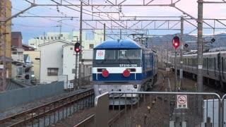 【まだ】EF210-329甲種輸送(20201216)【増える】