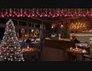 【放送用背景&BGM】 Cozy Christmas Coffee Shop Ambience