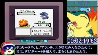 【クリスタル】レッド撃破RTA_3倍速レギュ