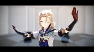 【原神MMD】KING【カメラ配布】