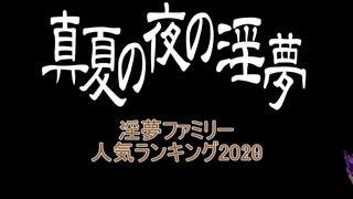 2020年 淫夢ファミリー人気ランキングTop