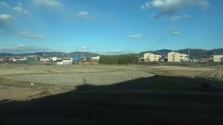【スナックカーで】【車窓】近鉄特急 京都→近鉄奈良・左【まいります】