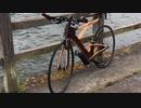 木製フレームのロードバイク試作3号車