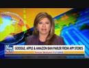Google&Apple&AmazonがSNSパーラーをBANした Sunday Morning Futures With Maria Bartiromo 11021  FOX BREAKING