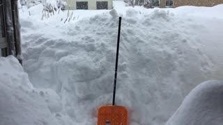 富山県!35年ぶりの大雪!