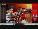 【ストⅢ3rd】3rdFT10SPECIAL match.6 くに(リュウ) vs トミナガ(まこと)