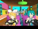 【MikuMikuDance】パラッパラッパーに挑戦してみる stage2(完成版)
