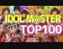 アイドルマスターアイドル別ランキングTOP100【18~20年】