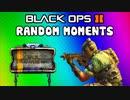Black Ops 2 Random Funny Moments - POO Map, Trolling Delirious, Rage Reactions, Flak Jacket!