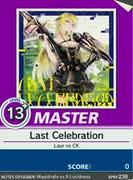 【譜面確認用】 Last Celebration MASTER