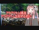 【アクアリウムVOICEROID部】死神茜ちゃんのアクアリウム講座Part0【アクアリウムを始める前に】