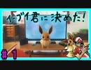 ★ピカブイ★色違いと伝説と行くカントー旅★初見実況#1★
