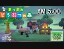 3DS用 [あつ森] 午前5時のBGM 焚き火の音と波の音 作業用 睡眠用 ASMR
