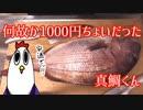 【NWTR】真鯛でカルパッチョと塩焼きと鯛汁