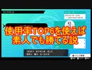 【ポケモン剣盾】ポケモン素人でも使用率TOP6使えば勝てる説【前編】