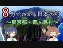 【CeVIO解説】8分でわかる東京都青ヶ島村【村8分】