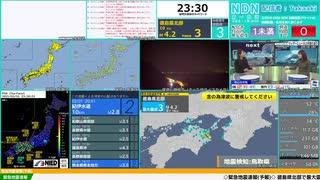速報 徳島 地震