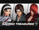 【新作KOF15】三種の神器チーム結成!『神楽ちづる』参戦PV  KOF XV|CHIZURU KAGURA|Character Trailer