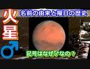 【ゆっくり解説】火星ってなんで火星って言うの? 火星ねっとり解説 前編
