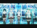 【初音ミク】 モザイクロール REMIXIES【MMD】【1080p-60fps】
