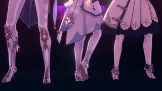 【原神MMD】紗痲を皆に踊ってもらった【モ