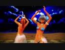 【東方MMD】褐色の咲夜と美鈴で月と太陽のめぐり【ベリーダンス】