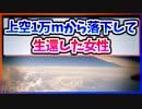 【ゆっくり解説】高度1万mから落下して生還した女性【今日の豆知識】