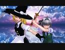 【東方MMD】魔理沙と妖夢が剣の練習に付き合ってくれるようです【殺陣アニメ】