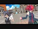 【ジャンル混合MMD】重音テト&黒潮で【Sugar】1080p