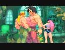 【格ゲーTAS】アレックス vs ヒューゴー(Street Fighter III: 3rd Strike)【AI高画質/60 fps】