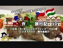 【ゆっくり】東欧旅行記 10 ターキッシュエアラインズ ビジネスクラス機内食