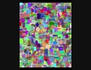 第24位:遺伝的アルゴリズムで最高にエッチな画像を作ろう!成長過程動画(1~13550世代目)