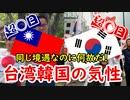【歴史解説】何故台湾は親日で、韓国は反日なの?その人間性に迫ってみた!