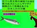 立憲民主党の減税で彼方此方どんどんザクザクお金を削除されて悲鳴をあげる日本人の大分編