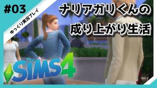 【sims4】ナリアガリくんの成り上がり生活