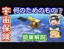 【ゆっくり解説】ピンチを乗り越えるため!いざという時のために備える宇宙保険を解説
