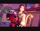 【ストⅤに私立ジャスティス学園より「風間あきら」が参戦】Street Fighter V - Akira Kazama Teaser