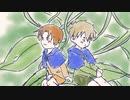 【APヘタリア人力ボカロ】天使組でブルーベルの森で(顔面強打...