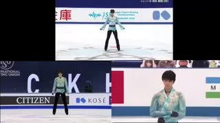 羽生結弦 「天と地と」全日本/World/WTT