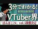 【4/11~4/17】3分でわかる!今週のVTuber界【佐藤ホームズの調査レポート】