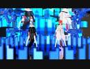 【らぶ式Sara & Nana】Bad Apple!!【MMD】【1080p-60fps】