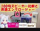 【100円ショップ】自作スピーカー素材にオススメのスピーカーユニットはどれだ!?