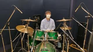 『【YUSUKE】 トリノコシティ ドラムで演奏してみた! #ボカコレ2021春』のサムネイル