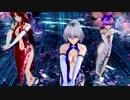 【東方MMD】咲夜・美鈴・パチュリーで「エンジェルフィッシュ」1080v30FPS
