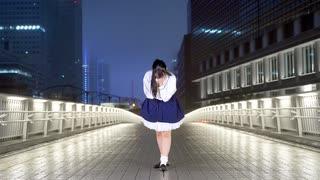 『【莉依紗】Tell Your World 雨の中で踊ってみた【4周年!】』のサムネイル