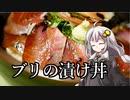 第70位:釣れなくても料理!ブリの漬け丼!【VOICEROIDキッチン】