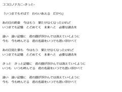 【MEIKO】ココロノナカニ-きっと-