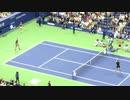 【全米オープンテニス】 2017年の準決勝!ナダル選手とデルポトロ選手【ニコニコ動画】